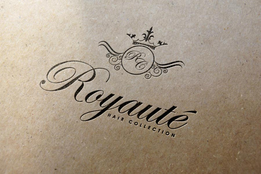 Penyertaan Peraduan #13 untuk Design a Logo for Royaute Hair Collection