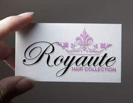 #16 untuk Design a Logo for Royaute Hair Collection oleh croscris