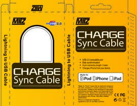 #1 untuk Create Packaging Designs for iPhone Cable oleh redllayan