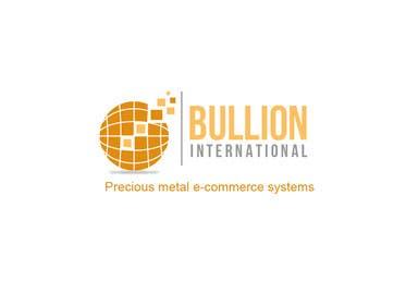 Nro 32 kilpailuun Design Bullionint.com's logo käyttäjältä rraja14
