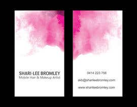 #72 untuk Design some Business Cards for Hair & Makeup Artist oleh gohardecent