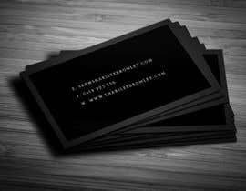 #31 for Design some Business Cards for Hair & Makeup Artist af Fgny85