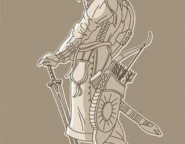 #125 untuk Illustrate Some Historic Characters in Line art style! oleh pixell