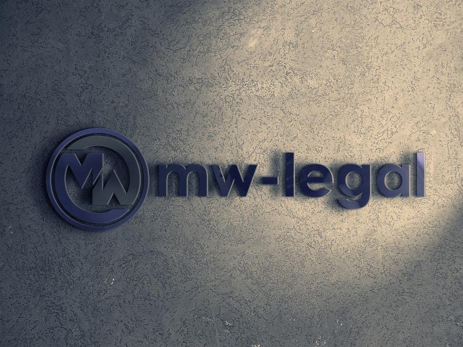 Konkurrenceindlæg #11 for Design a Logo for MW-Legal! (Simple)
