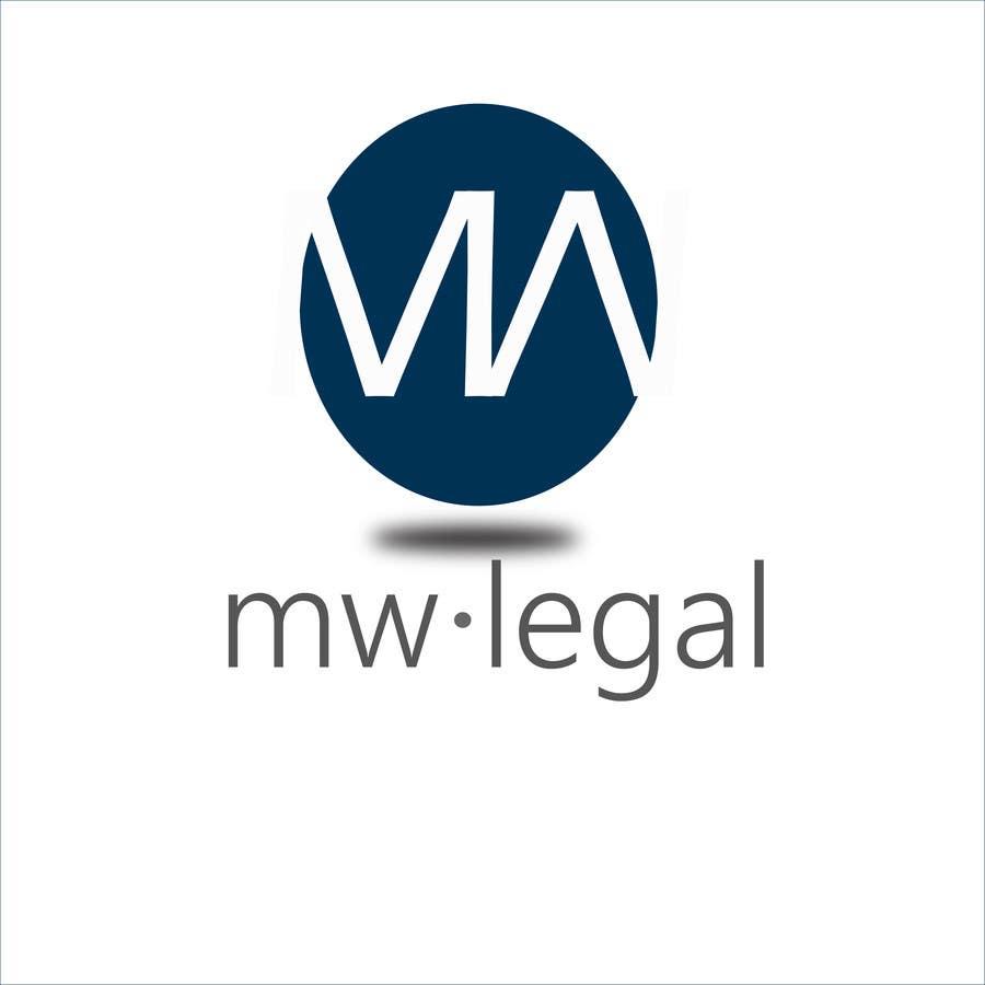 Konkurrenceindlæg #84 for Design a Logo for MW-Legal! (Simple)