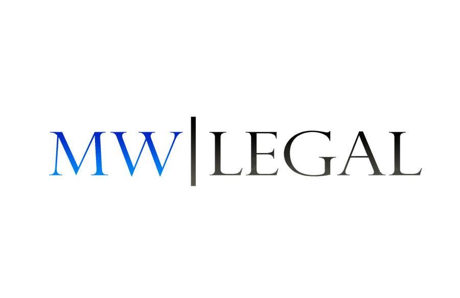 Konkurrenceindlæg #231 for Design a Logo for MW-Legal! (Simple)