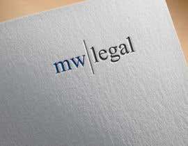 #111 for Design a Logo for MW-Legal! (Simple) by Airdesig