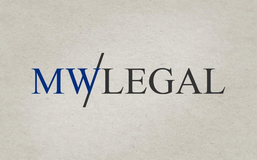 Konkurrenceindlæg #140 for Design a Logo for MW-Legal! (Simple)