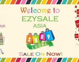 Abishek2 tarafından Design a Logo & Banner for 'EzySale' için no 15