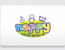 "photogra tarafından Design a Logo for ""Nappy Advice Service NI"" için no 18"