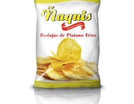 #62 cho Print & Packaging Design for Snacks and logo for Ñaquis Snacks bởi abhikreationz