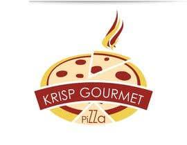 #13 untuk Design a Logo for KRISP GOURMET PIZZA oleh tafheer