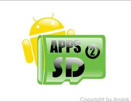 #8 for Design an icon for my app Apps2SD af anankzeptyan