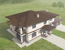 #6 untuk 3D Modelling for a house in a forest setting oleh asviridenko92