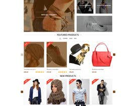 #20 untuk Design a Website Mockup for Bigcommerce Shopping cart oleh xsasdesign