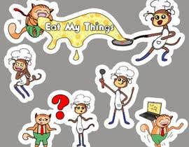 #9 untuk Design 2 mascots for a food-based social network oleh OlgaShevchenko