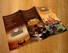 #10 untuk New Hunting-related Trifold Design Needed oleh mydZnecoz
