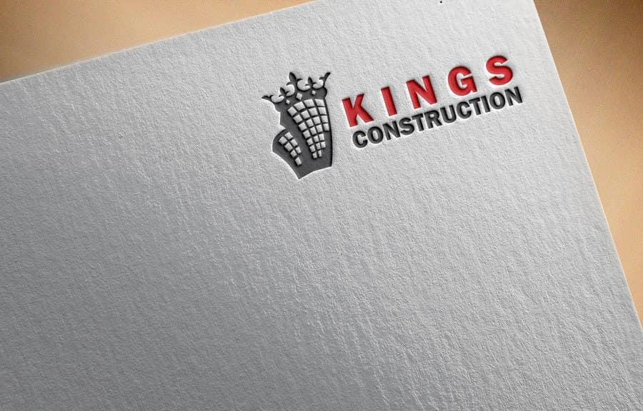 Penyertaan Peraduan #14 untuk Design a Logo for a construction company