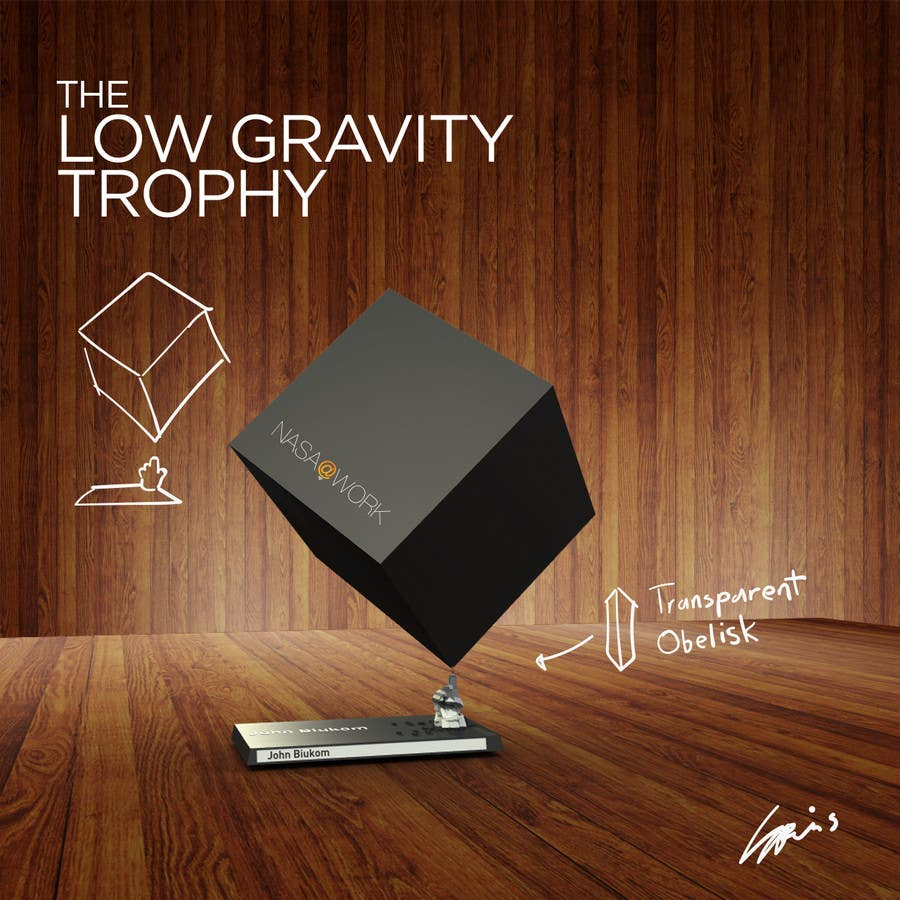 Contest Entry #81 for NASA Challenge:   Design a 3D Printable Award