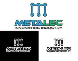 #111 for Design a Logo for Metalec by roedylioe