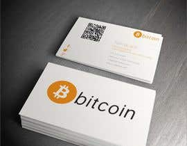 #15 cho Design 10 Business Cards for Bitcoin bởi elvispluwn1