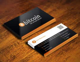 #88 cho Design 10 Business Cards for Bitcoin bởi arenadfx