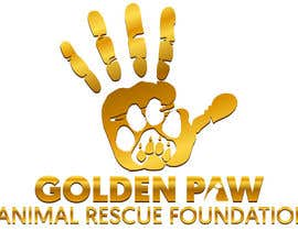 "TwistedMunkay tarafından Logo needed for the ""GOLDEN PAW"" Foundatiton için no 16"