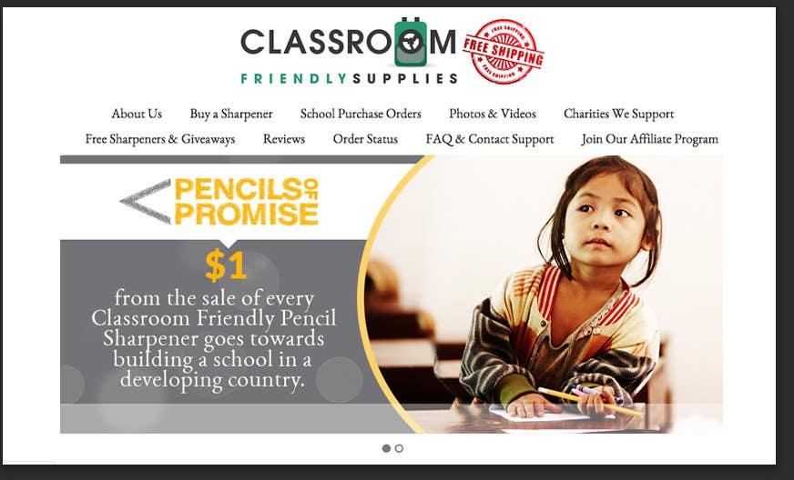 Penyertaan Peraduan #75 untuk Design a Banner for my website promoting a charity I donate to