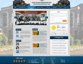 #9 untuk Design a Government Website Front/Home Page oleh mahiweb123