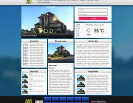 #8 untuk Design a Government Website Front/Home Page oleh yzzo63