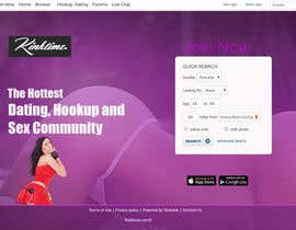 #13 untuk Design a Website Mockup for http://www.kinktime.com oleh lassoarts