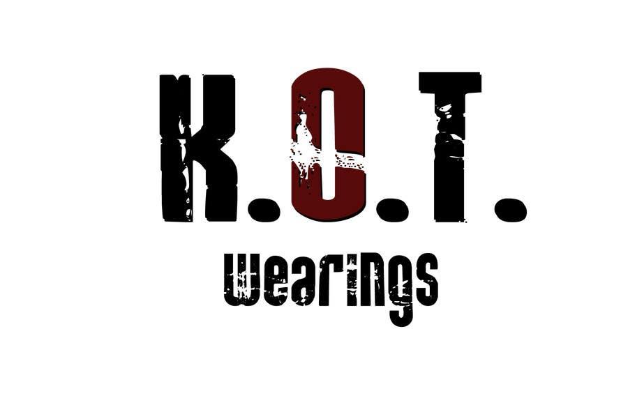 Bài tham dự cuộc thi #2 cho Design en logo for K.O.T