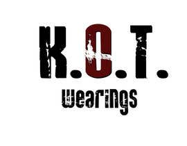 #2 cho Design en logo for K.O.T bởi martinareba