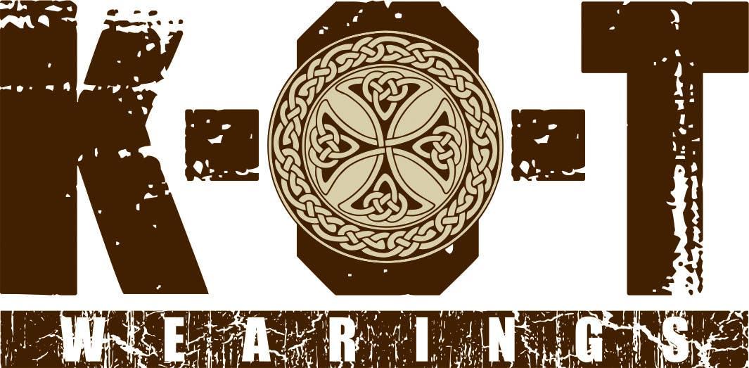 Bài tham dự cuộc thi #45 cho Design en logo for K.O.T