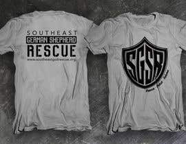 #11 untuk Design a T-Shirt for Southeast German Shepherd Rescue oleh dsgrapiko