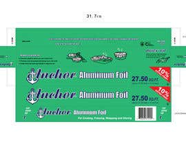 #1 para Create Print and Packaging Designs for ALUMINUM FOIL PACKAGE por CBDesigns101