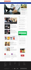 #11 cho Design a Website Mockup for a news website bởi kreativeminds