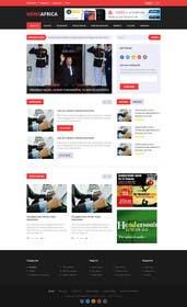 #12 cho Design a Website Mockup for a news website bởi kreativeminds