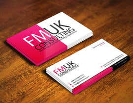 #15 untuk Design a leaflet and business card for FMUK Consulting oleh gohardecent