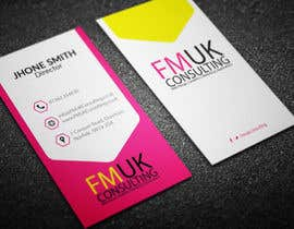 #26 untuk Design a leaflet and business card for FMUK Consulting oleh Fgny85