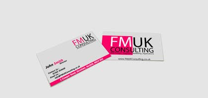 #4 untuk Design a leaflet and business card for FMUK Consulting oleh rjsoni1992
