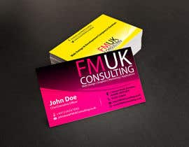 #17 untuk Design a leaflet and business card for FMUK Consulting oleh manabendrag