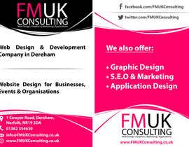 #19 untuk Design a leaflet and business card for FMUK Consulting oleh manabendrag