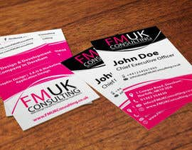 #20 untuk Design a leaflet and business card for FMUK Consulting oleh manabendrag