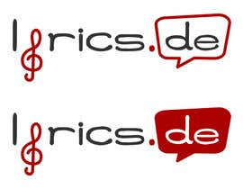 #15 untuk design a logo for the music text comunity lyrics.de oleh jfalberts