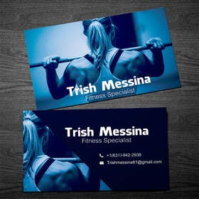 #13 cho personal training business cards bởi rzr9