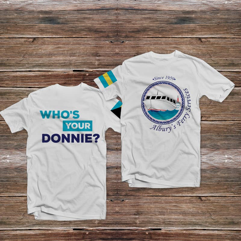 Penyertaan Peraduan #16 untuk Design a T-Shirt for Alburys Ferry , Abaco Bahamas