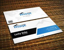 #37 untuk Design some Business Cards for Ridge Web oleh wpdtpg