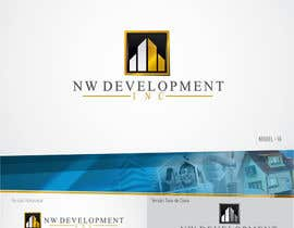 #67 untuk Logo for New Real Estate Development Company - Company name is NW Development Inc oleh artmx
