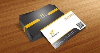 #7 untuk Design some Business Cards for pet management company oleh meshkatcse